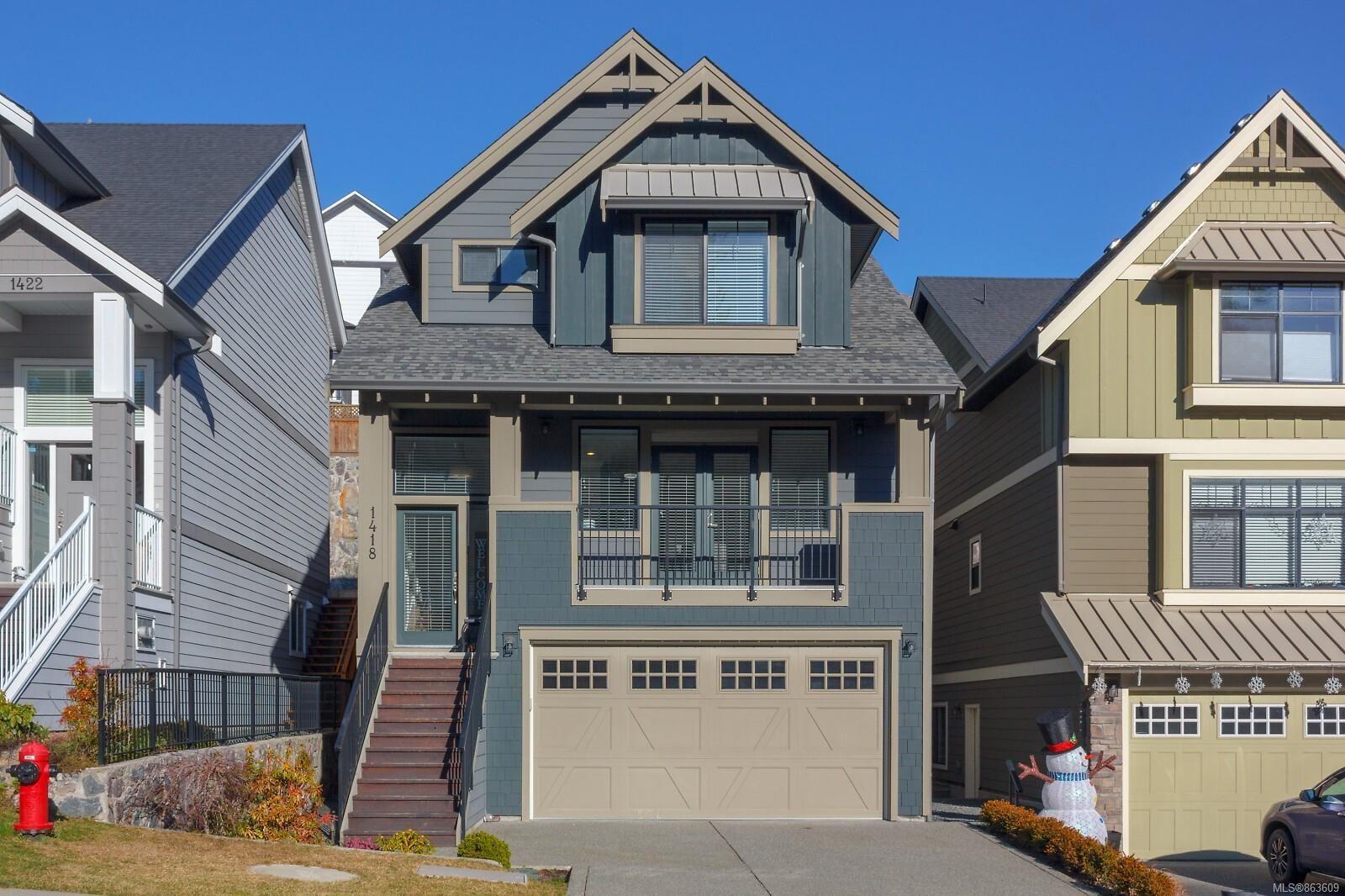 Main Photo: 1418 Commander Crt in : La Westhills House for sale (Langford)  : MLS®# 863609