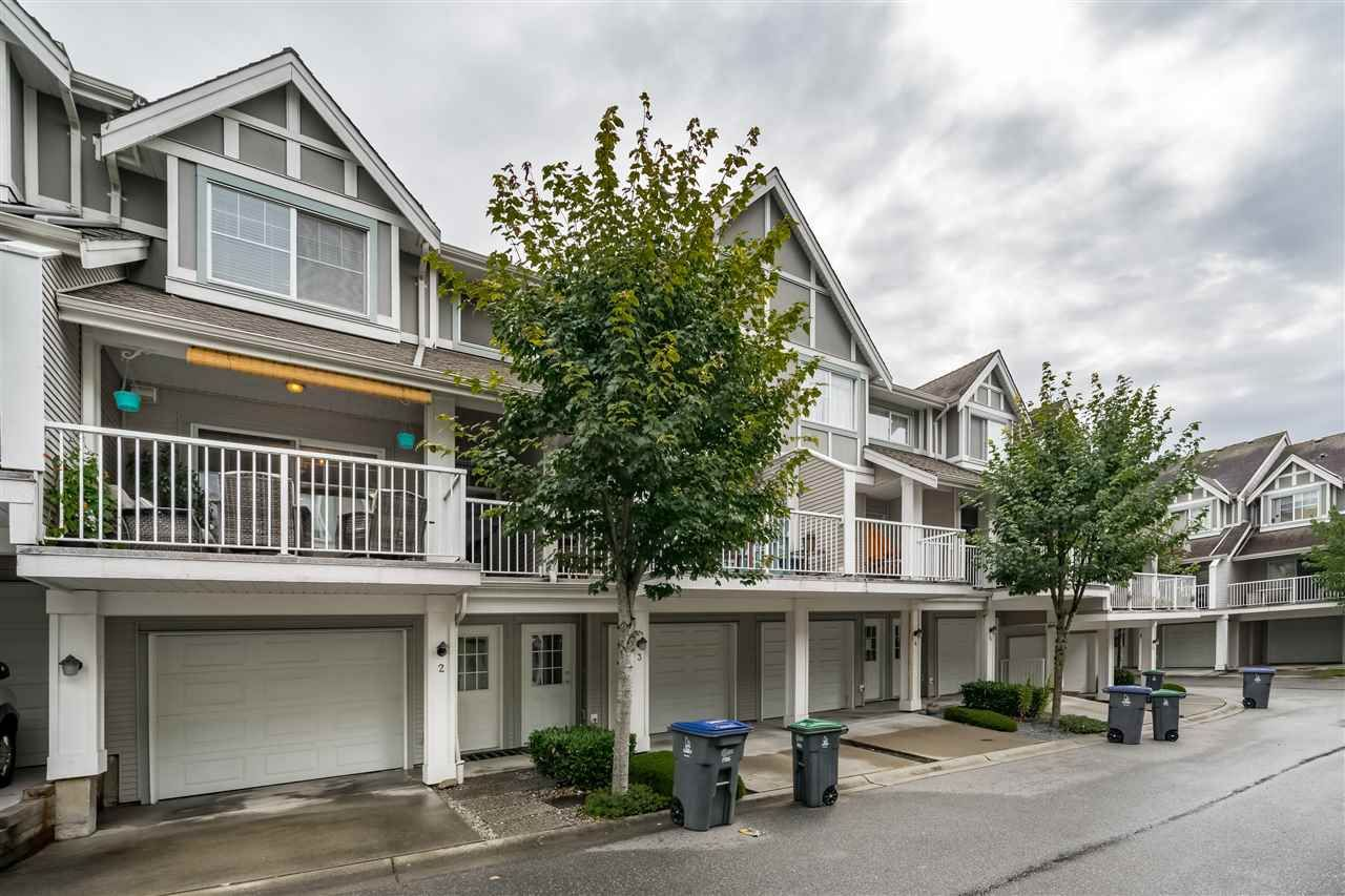 "Main Photo: 2 6555 192A Street in Surrey: Clayton Townhouse for sale in ""Carlisle at  Southlands"" (Cloverdale)  : MLS®# R2399002"