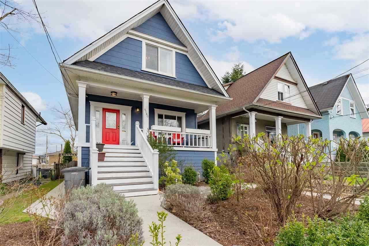 Main Photo: 4160 PRINCE ALBERT Street in Vancouver: Fraser VE House for sale (Vancouver East)  : MLS®# R2569673
