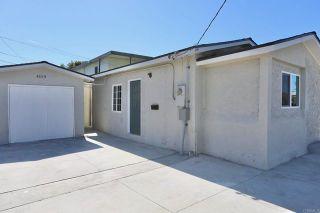 Photo 2: Property for sale: 4119 Orange Avenue in San Diego