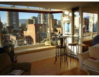 """Photo 4: 1104 1330 HORNBY ST in Vancouver: Downtown VW Condo for sale in """"HORNBY COURT"""" (Vancouver West)  : MLS®# V560112"""
