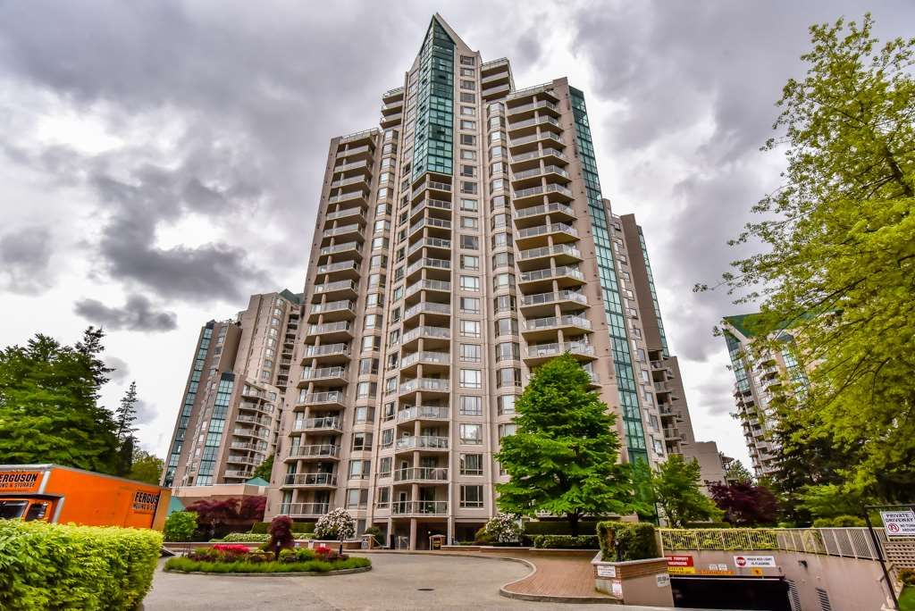 Main Photo: 1203 1199 EASTWOOD Street in Coquitlam: North Coquitlam Condo for sale : MLS®# R2462647
