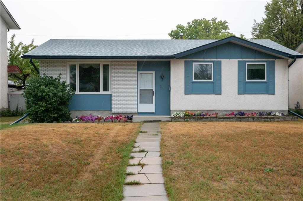 Main Photo: 31 Nicollet Avenue in Winnipeg: Bright Oaks Residential for sale (2C)  : MLS®# 202120454
