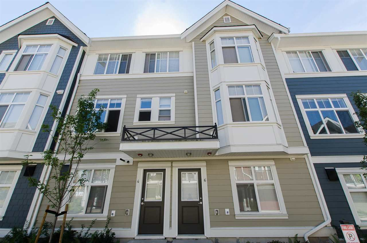 """Main Photo: 6 20852 77A Avenue in Langley: Willoughby Heights Townhouse for sale in """"Arcadia"""" : MLS®# R2107219"""