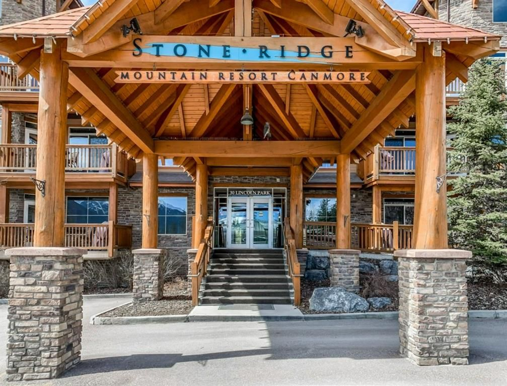 Main Photo: 316 30 Lincoln Park: Canmore Apartment for sale : MLS®# A1111310