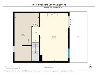 Photo 34: 30 448 Strathcona Drive SW in Calgary: Strathcona Park Row/Townhouse for sale : MLS®# A1062662