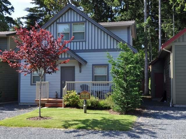Main Photo: 266 1130 RESORT DRIVE in PARKSVILLE: PQ Parksville Row/Townhouse for sale (Parksville/Qualicum)  : MLS®# 703376