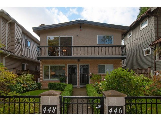 """Main Photo: 446 448 E 44TH Avenue in Vancouver: Fraser VE House for sale in """"Main Street"""" (Vancouver East)  : MLS®# V1088121"""