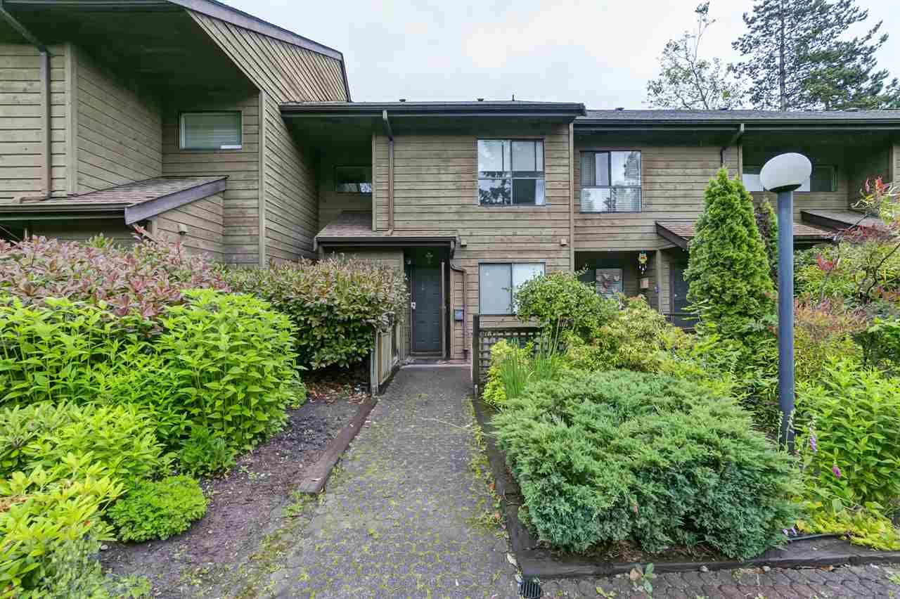 "Main Photo: 9118 CENTAURUS Circle in Burnaby: Simon Fraser Hills Townhouse for sale in ""Chalet Court"" (Burnaby North)  : MLS®# R2464006"