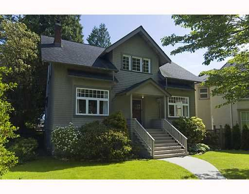 Main Photo: 4036 W 33RD Avenue in Vancouver: Dunbar House for sale (Vancouver West)  : MLS®# V769195