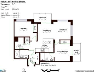 Photo 36: 2801 888 HOMER Street in Vancouver: Downtown VW Condo for sale (Vancouver West)  : MLS®# R2605625