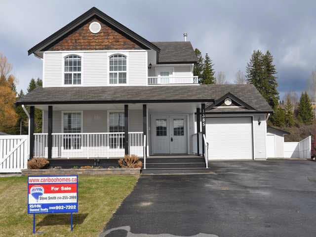 Main Photo: 1385 NAGRA AVENUE in : Quesnel - Town House for sale : MLS®# N206263