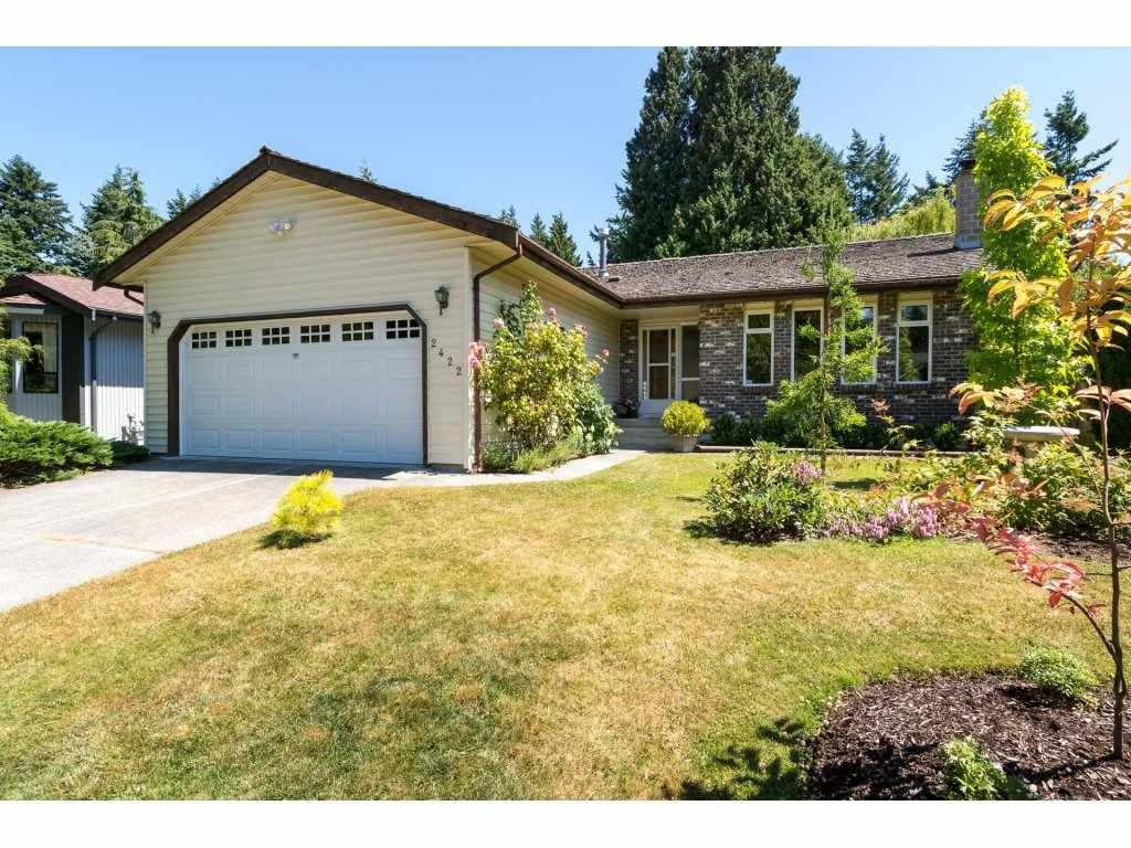 """Main Photo: 2422 123A Street in Surrey: Crescent Bch Ocean Pk. House for sale in """"Crescent Heights"""" (South Surrey White Rock)  : MLS®# R2186856"""