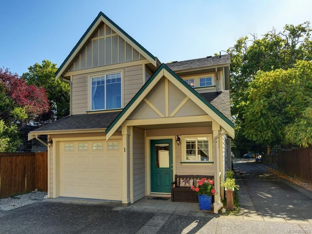 Main Photo: 1 2650 Shelbourne St in : Vi Oaklands Row/Townhouse for sale (Victoria)  : MLS®# 850293
