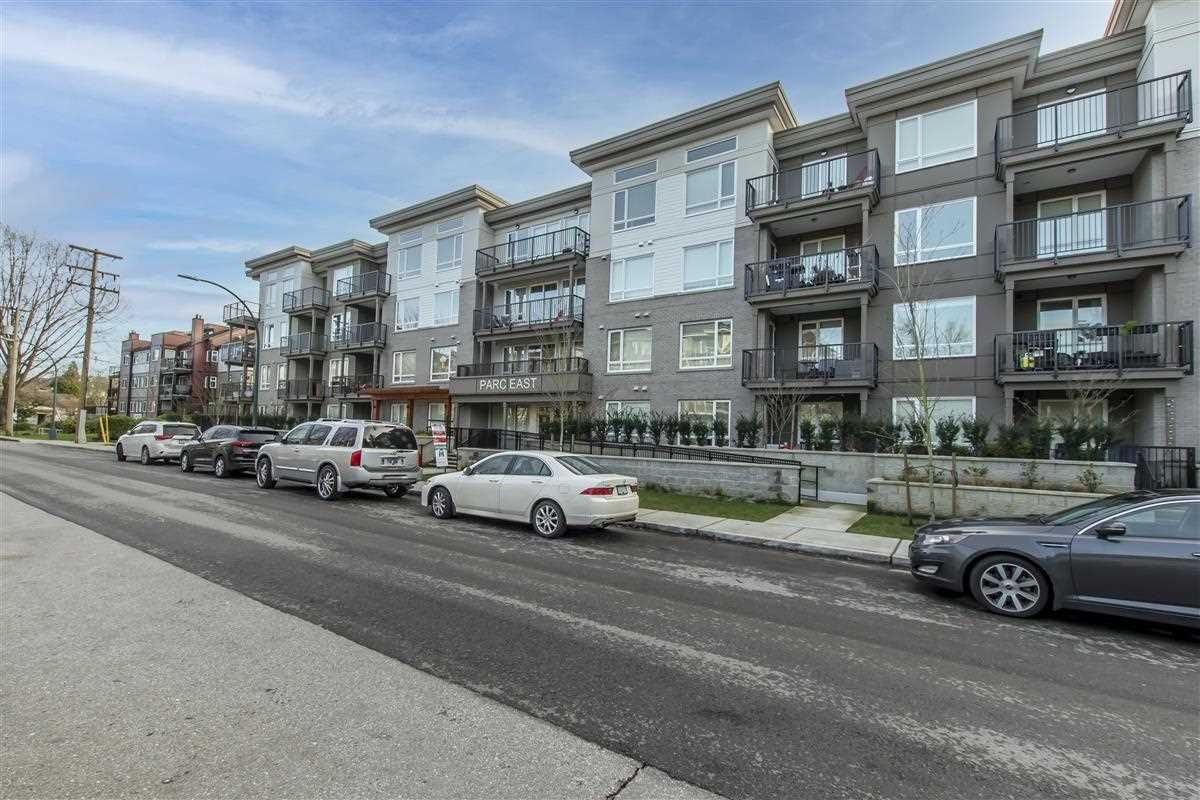 """Main Photo: 208 2382 ATKINS Avenue in Port Coquitlam: Central Pt Coquitlam Condo for sale in """"Parc East"""" : MLS®# R2532155"""