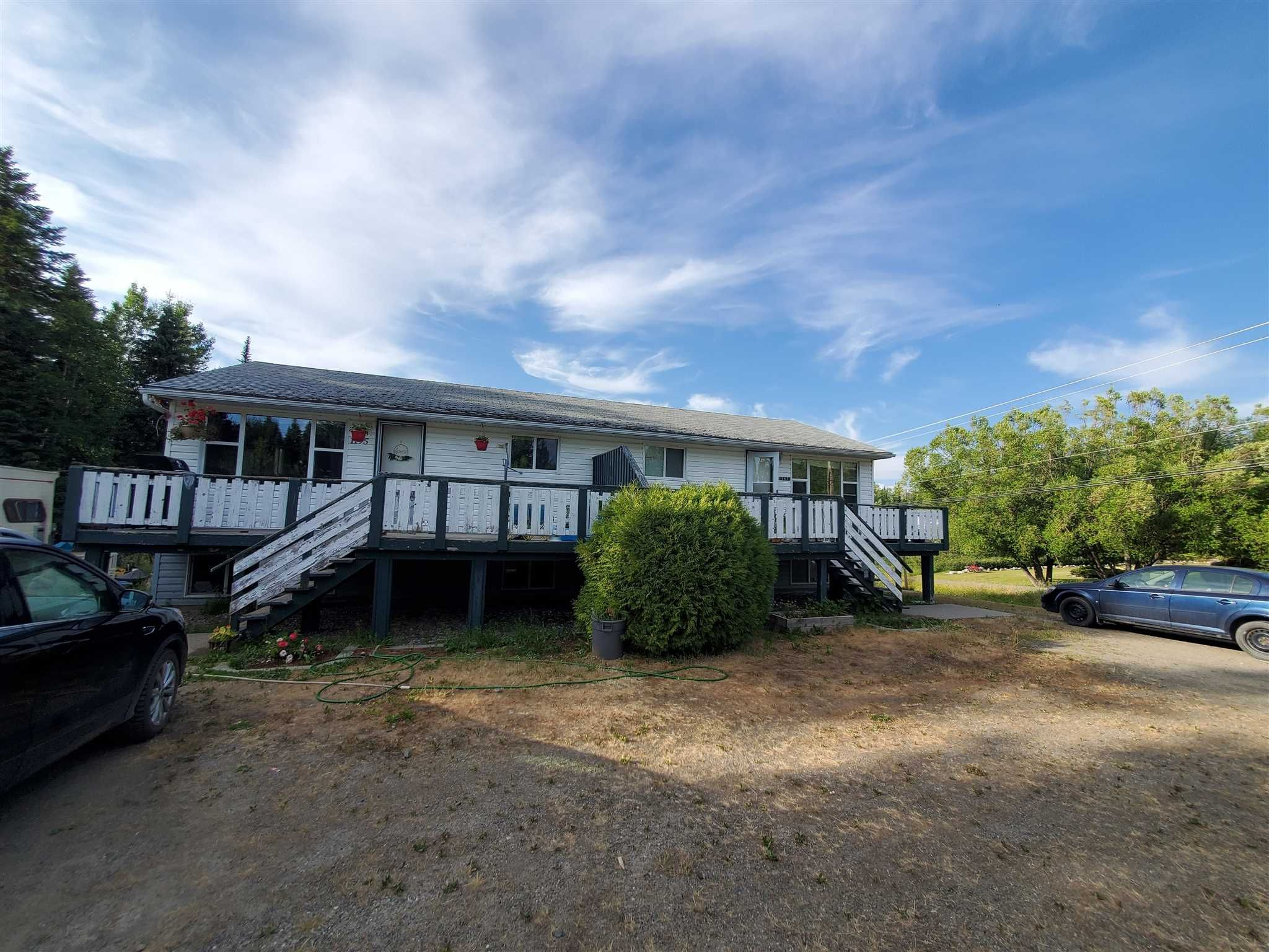 Photo 1: Photos: 1195 - 1197 OMEGA Road in Quesnel: Quesnel - Rural North Duplex for sale (Quesnel (Zone 28))  : MLS®# R2600496