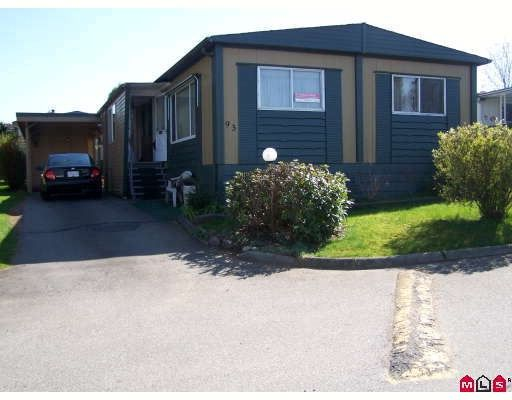 """Main Photo: 93 1884 MCCALLUM Road in ABBOTSFORD: Central Abbotsford Manufactured Home for sale in """"GARDEN VILLAGE"""" (Abbotsford)  : MLS®# F2908962"""