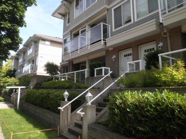 Main Photo: 102 2432 WELCHER Avenue in Port Coquitlam: Central Pt Coquitlam Townhouse for sale : MLS®# R2179694