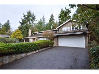 "Main Photo: 4196 ROCKRIDGE Road in West Vancouver: Rockridge House for sale in ""ROCKRIDGE"" : MLS®# V990224"