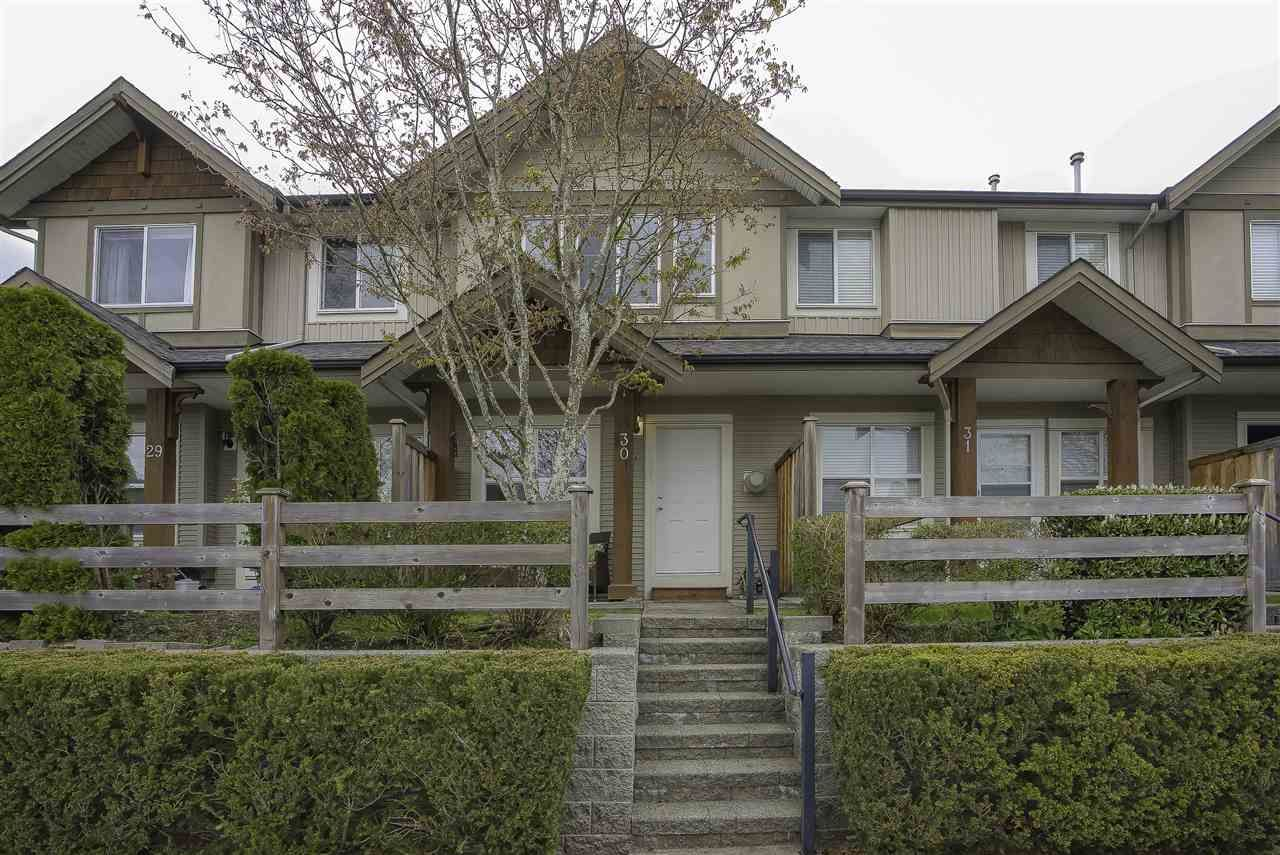 """Main Photo: 30 1055 RIVERWOOD Gate in Port Coquitlam: Riverwood Townhouse for sale in """"MOUNTAINVIEW ESTATES"""" : MLS®# R2450846"""