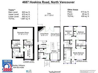 """Photo 20: 4687 HOSKINS Road in North Vancouver: Lynn Valley Townhouse for sale in """"Yorkwood Hills"""" : MLS®# V1130189"""