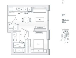 """Photo 2: 907 1550 ALBERNI Street in Vancouver: West End VW Condo for sale in """"ALBERNI BY KENGO KUMA"""" (Vancouver West)  : MLS®# R2444813"""