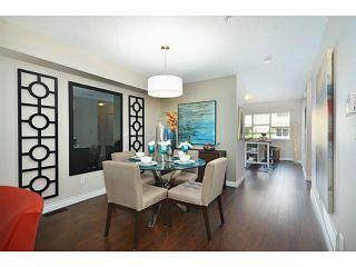 """Photo 6: 18 1268 RIVERSIDE Drive in Port Coquitlam: Riverwood Townhouse for sale in """"SOMERSTON LANE"""" : MLS®# V1045119"""