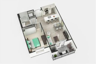 Photo 5: 103 70 Philip Lee Drive in Winnipeg: Crocus Meadows Condominium for sale (3K)  : MLS®# 202121658
