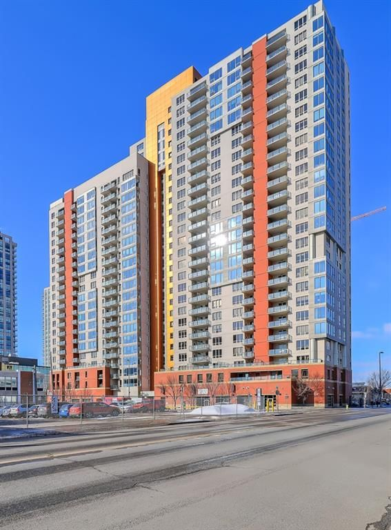 Main Photo: 1012 1053 10 Street SW in Calgary: Beltline Apartment for sale : MLS®# A1085829