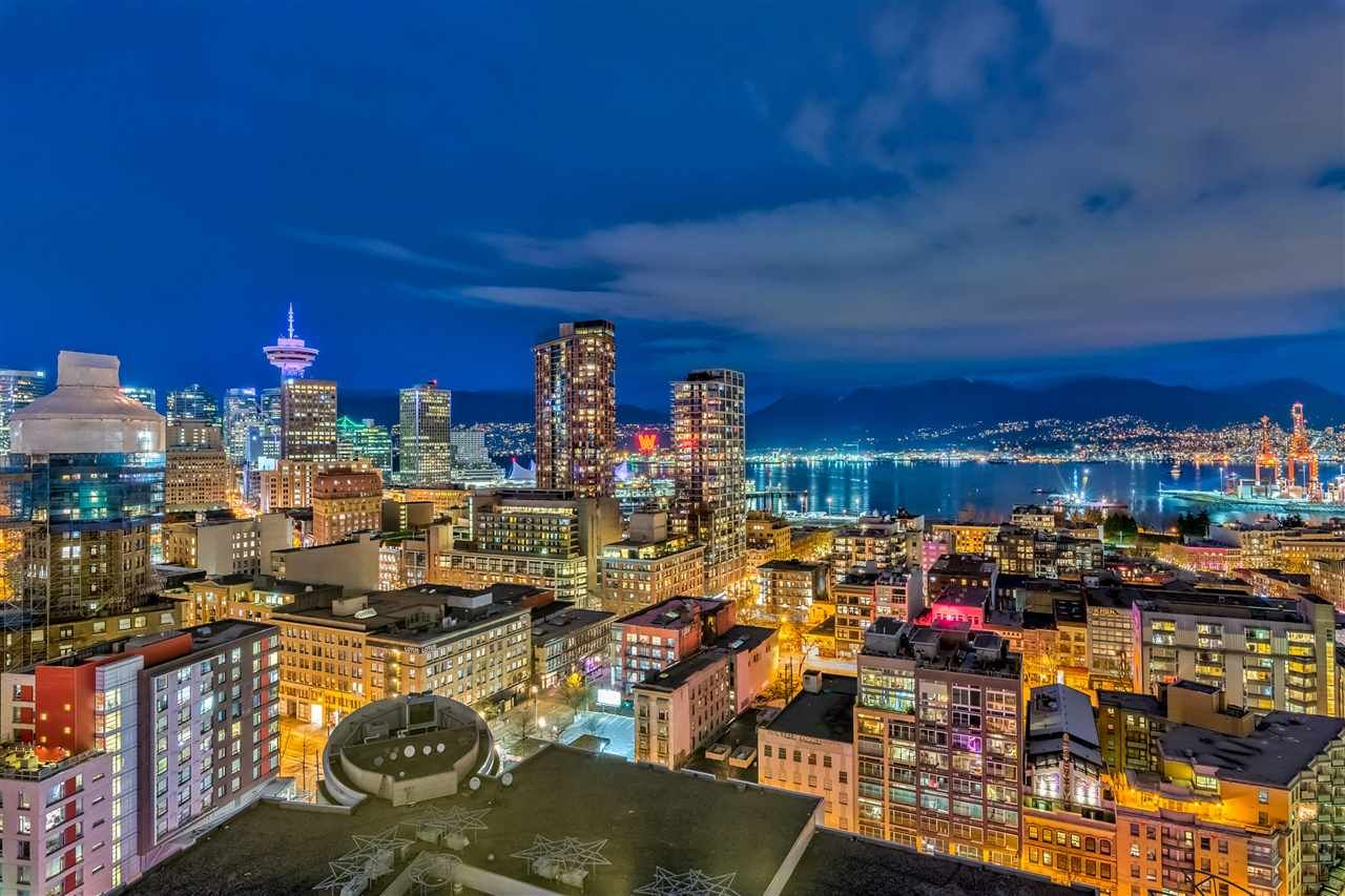 Main Photo: 2705 63 KEEFER Place in Vancouver: Downtown VW Condo for sale (Vancouver West)  : MLS®# R2449685
