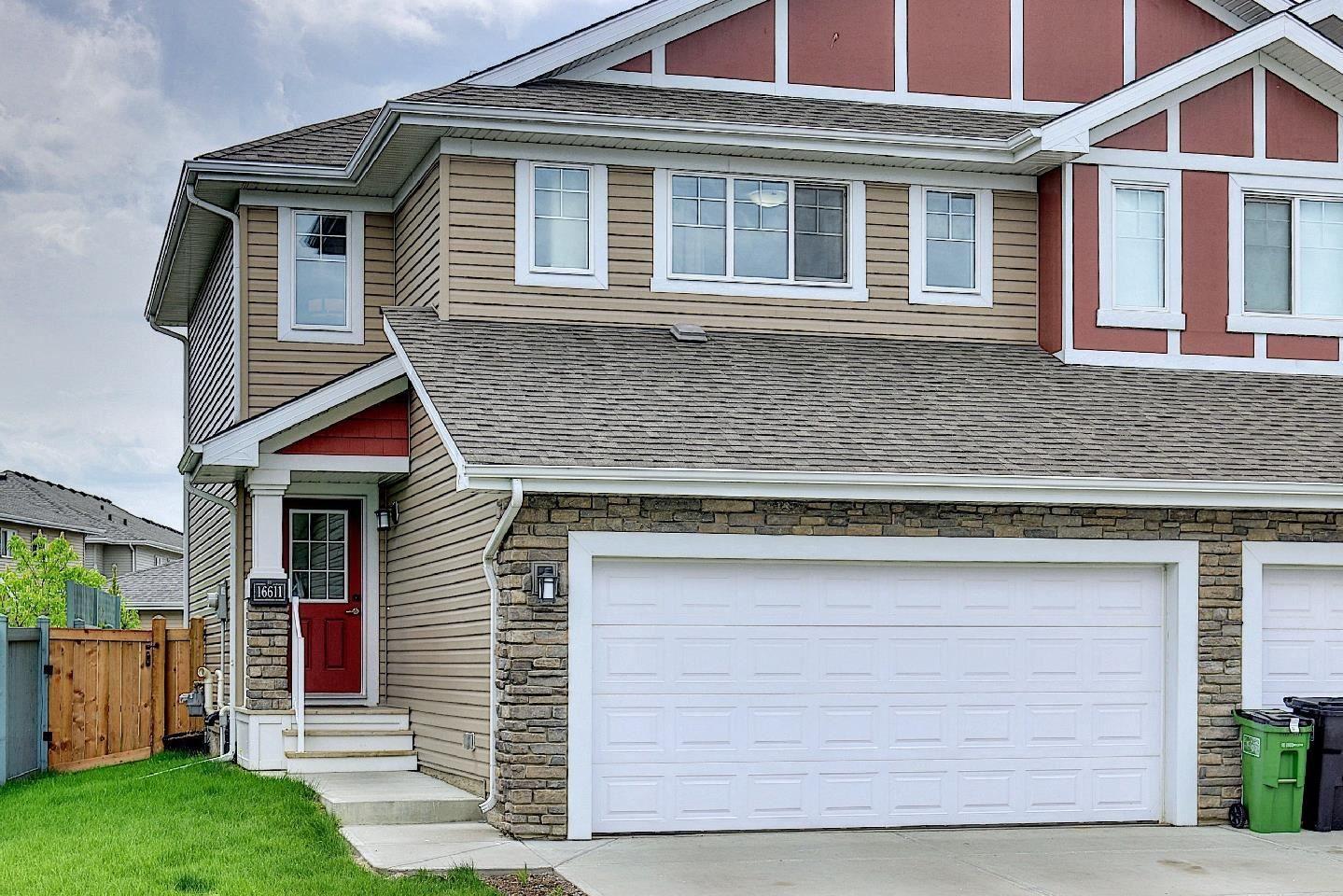 Main Photo: 16611 14 Avenue in Edmonton: Zone 56 House Half Duplex for sale : MLS®# E4248424
