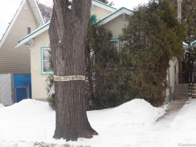 Main Photo: 815 Sherburn Street in WINNIPEG: West End / Wolseley Residential for sale (West Winnipeg)  : MLS®# 1503759