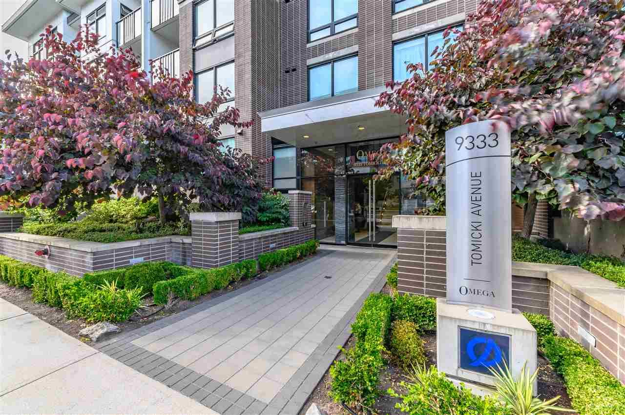 Main Photo: 418 9333 TOMICKI AVENUE in Richmond: West Cambie Condo for sale : MLS®# R2391421
