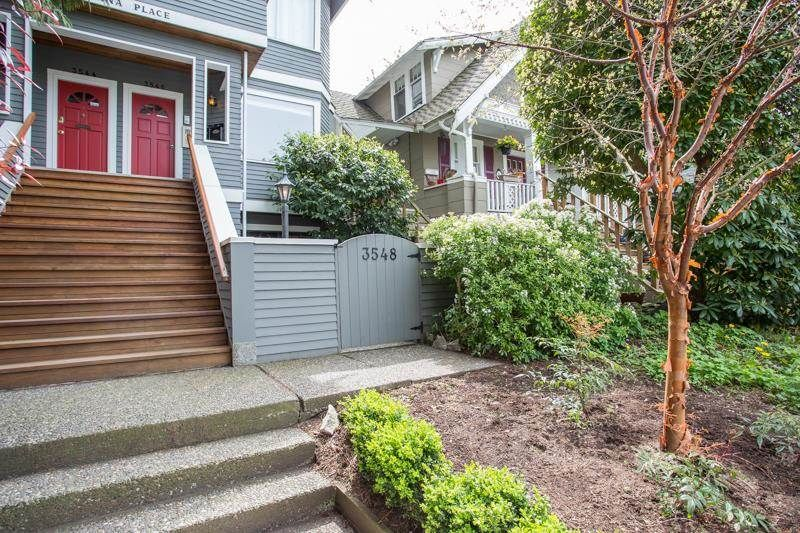 "Main Photo: 3548 POINT GREY Road in Vancouver: Kitsilano Townhouse for sale in ""MARINA PLACE"" (Vancouver West)  : MLS®# R2576104"