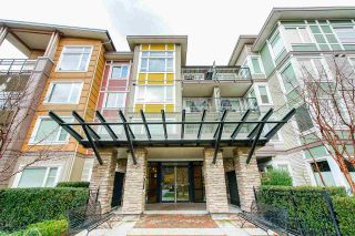 "Photo 1: 408 13740 75A Avenue in Surrey: East Newton Condo for sale in ""Mirra"" : MLS®# R2531809"