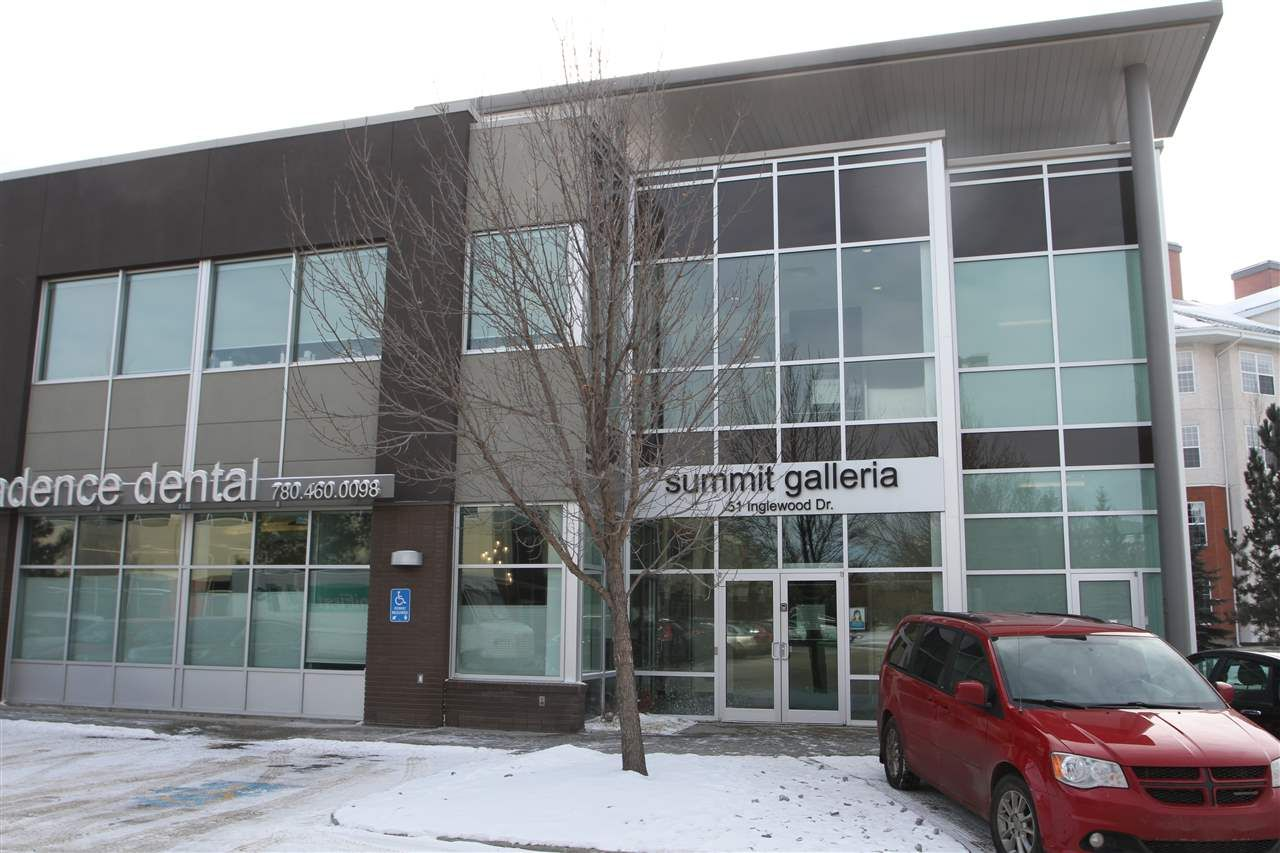 Main Photo: 204 51 Inglewood Drive: St. Albert Office for lease : MLS®# E4229068