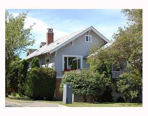 Main Photo: 3595 LAUREL Street in Vancouver: Cambie House for sale (Vancouver West)  : MLS®# V666216