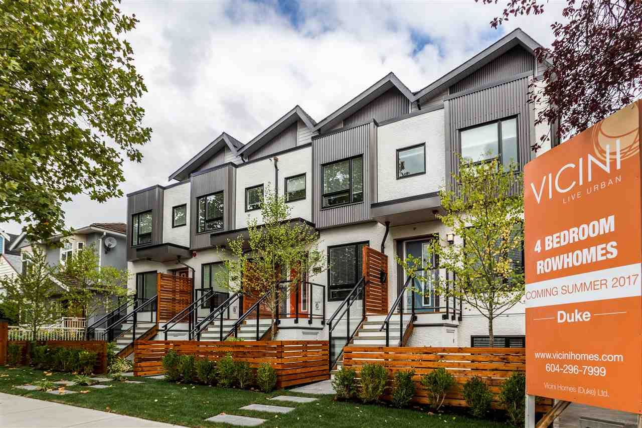 Main Photo: 2767 DUKE Street in Vancouver: Collingwood VE Townhouse for sale (Vancouver East)  : MLS®# R2207905