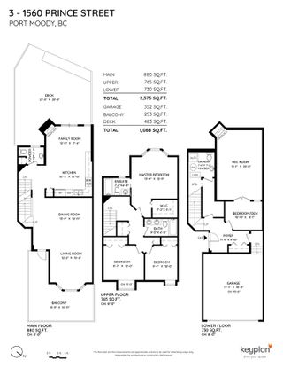 """Photo 33: 3 1560 PRINCE Street in Port Moody: College Park PM Townhouse for sale in """"Seaside Ridge"""" : MLS®# R2570343"""