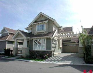 """Main Photo: 60 15288 36TH AV in Surrey: Morgan Creek House for sale in """"CAMBRIA"""" (South Surrey White Rock)  : MLS®# F2507409"""