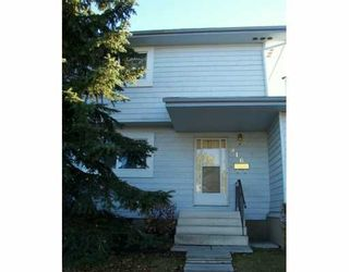 Photo 1: : Airdrie Townhouse for sale : MLS®# C3236415