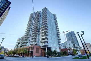 Photo 1: 308 519 Riverfront Avenue SE in Calgary: Downtown East Village Apartment for sale : MLS®# A1038277