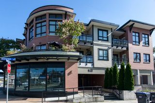 """Photo 1: 203 2664 KINGSWAY Avenue in Port Coquitlam: Central Pt Coquitlam Condo for sale in """"KINGSWAY GARDEN"""" : MLS®# R2112381"""