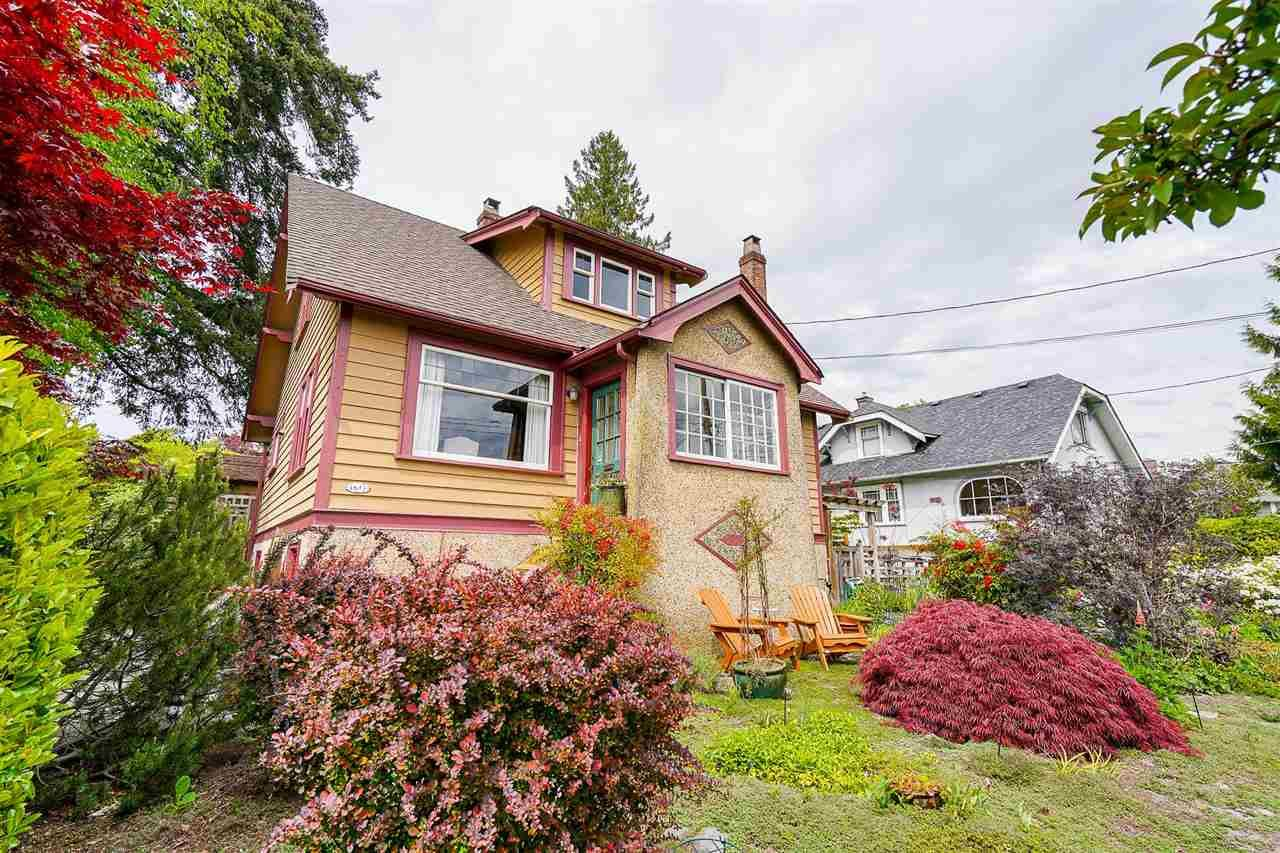 """Main Photo: 1613 SEVENTH Avenue in New Westminster: West End NW House for sale in """"West End"""" : MLS®# R2579061"""