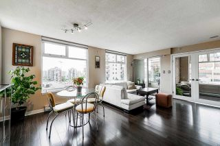 """Photo 1: 501 720 CARNARVON Street in New Westminster: Downtown NW Condo for sale in """"Carnarvon Towers"""" : MLS®# R2588641"""