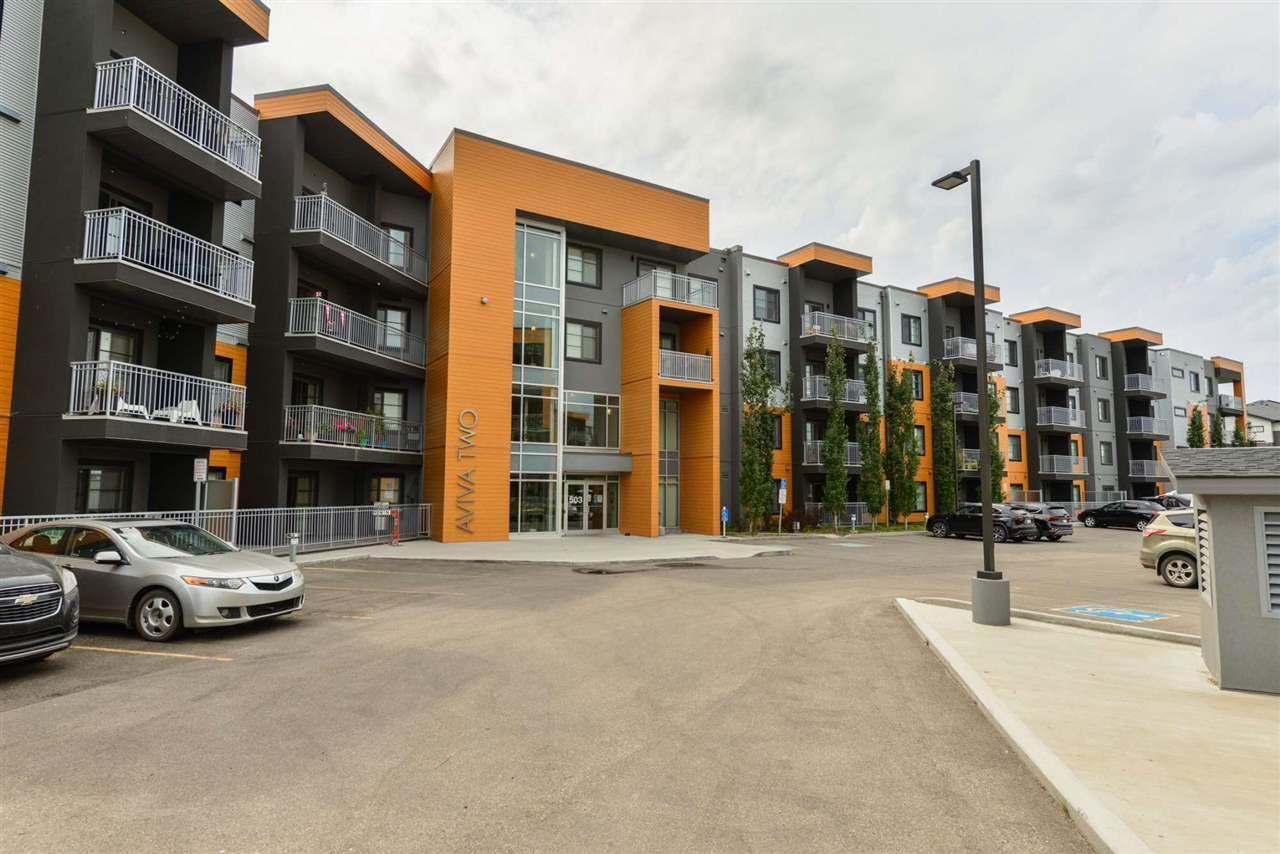 Main Photo: 235 503 Albany Way in Edmonton: Zone 27 Condo for sale : MLS®# E4211597