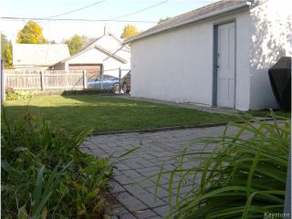 Photo 15: 456 St Jean Baptiste Street in WINNIPEG: St Boniface Residential for sale (South East Winnipeg)  : MLS®# 1427520