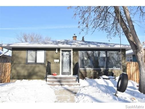 Main Photo: 3732 NORMANDY Avenue in Regina: River Heights Single Family Dwelling for sale (Regina Area 05)  : MLS®# 595664