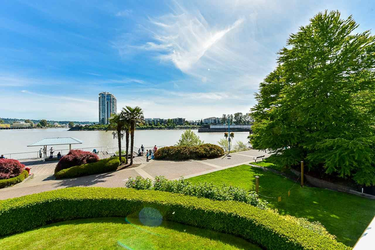 "Main Photo: 204 1230 QUAYSIDE Drive in New Westminster: Quay Condo for sale in ""Tiffany Shores"" : MLS®# R2561902"