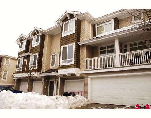 "Main Photo: 19 15030 58TH Avenue in Surrey: Sullivan Station Townhouse for sale in ""SUMMERLEAF"" : MLS®# F2833515"